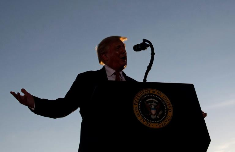 Trump insults Biden, predicts reelection in New Hampshire rally