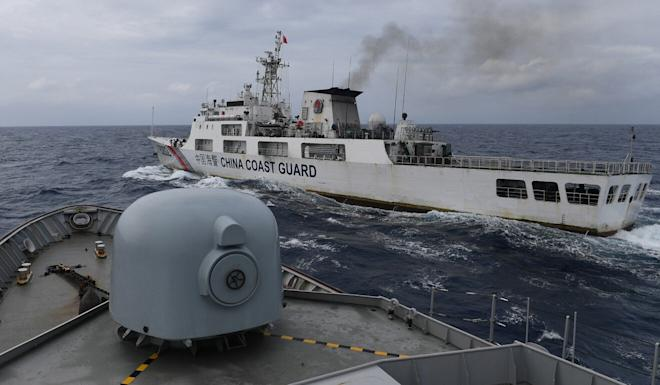 Chinese coastguard vessels have been involved in several clashes with boats from other countries in recent months. Photo: Reuters