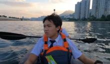 三個撐艇返學的少年|體藝生移民英國前 凌晨4點撐艇返校留城門河回憶