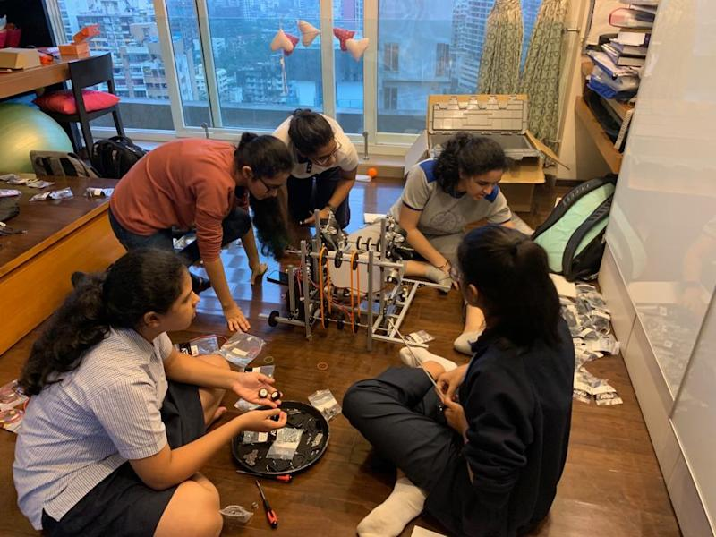 The team of five teenagers representing India at FIRST Global Challenge will build robots to tackle the challenge of ocean pollution.
