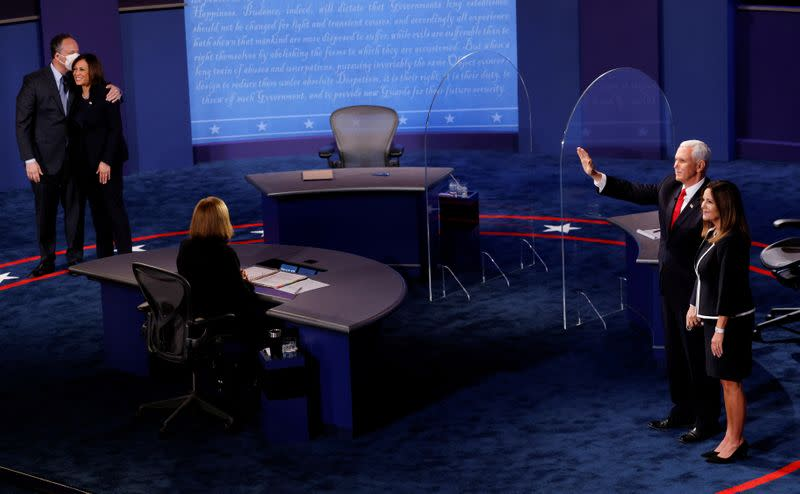 Nearly 58 million watch VP debate, big jump from 2016
