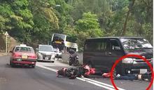 淺水灣道電單車發生交通意外 鐵騎士傷重不治