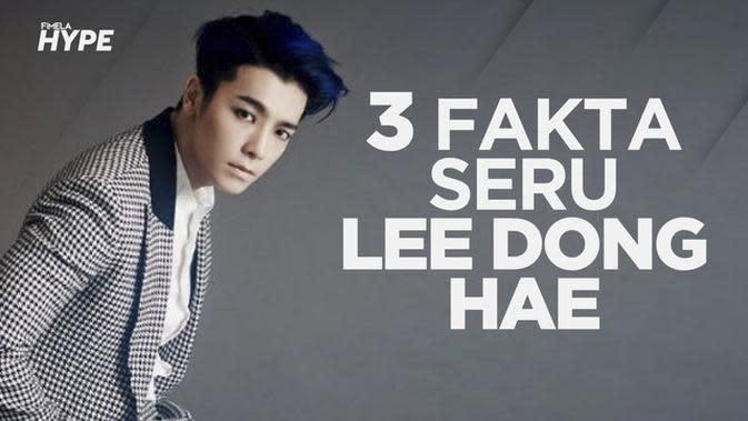 3 Fakta Seru Lee Dong Hae Super Junior
