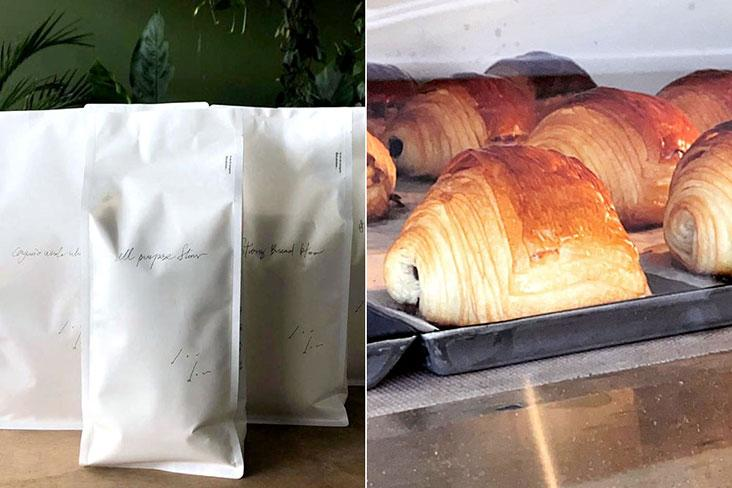 Flours from Dou Dou are used for the wonderful breads and pastries available at One Half x ilaika – Pictures courtesy of One Half x ilaika