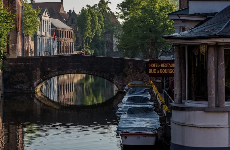 Bruges is far emptier than usual - getty
