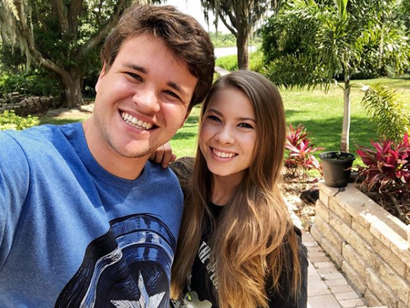 Bindi Irwin and fiance Chandler Powell