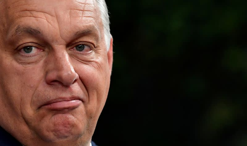 Hungary PM Orban endorses Trump in November U.S. election
