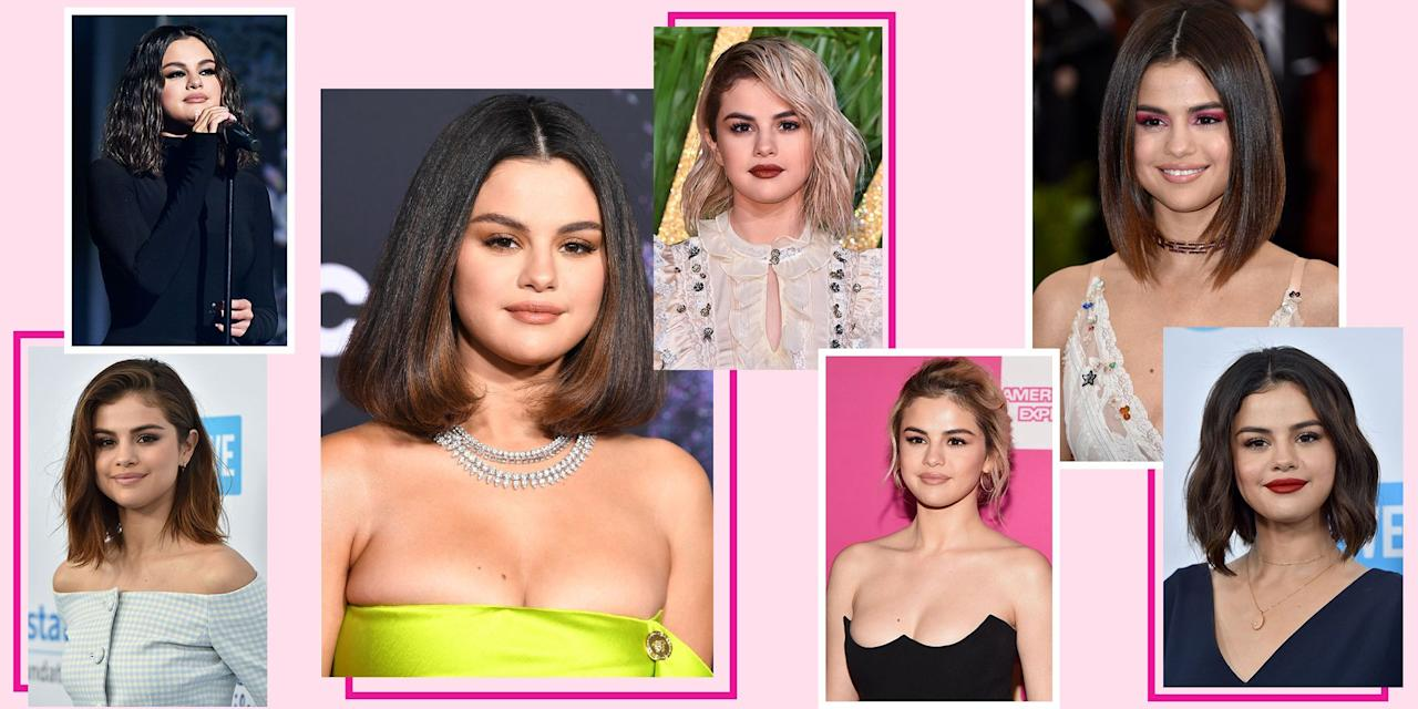 <p>The heart wants what it wants and, personally, my heart wants Selena Gomez's hair. The singer is always changing up her hair – the color, the length, <em>and </em>the<em></em> texture. Nowadays, she's rocking long, natural-looking extensions, but put her on a red carpet and prepare to be shocked with an unexpected new hairstyle. </p><p>When it comes to hair transformations, Sel can pull *anything* off, even a bobbed purple wig (keep scrolling for photo evidence). In fact, she's the ultimate source if you're looking for some hair inspiration. Here are all the most fabulous hairstyles she's worn throughout the years. </p>