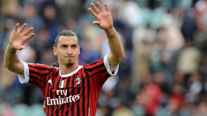 Zlatan Ibrahimovic. (AFP/Alberto Lingria)