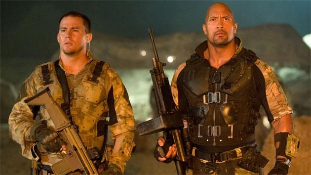 Exclusive: 'G.I. Joe: Retaliation' trailer shows The Rock, Bruce Willis, and London's destruction