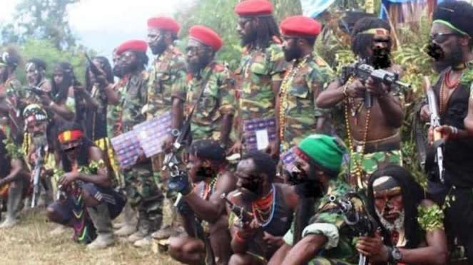 VIVA Militer: Ilustrasi TPNPB