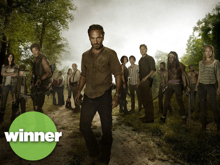 "Winner: ""The Walking Dead"""