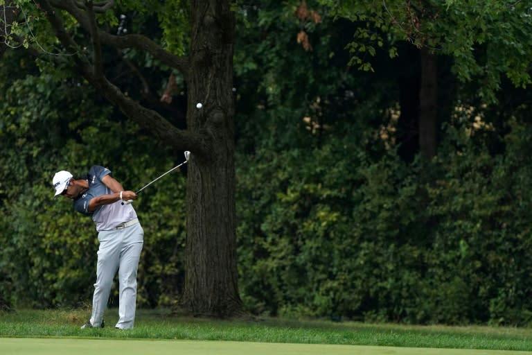 Matsuyama, Johnson deadlocked atop PGA BMW Championship