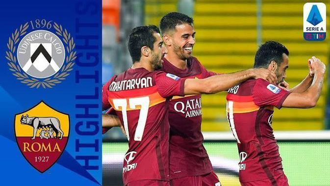 VIDEO: Pedro Rodriguez Cetak Gol Fantastis Saat AS Roma Taklukkan Udinese di Liga Italia