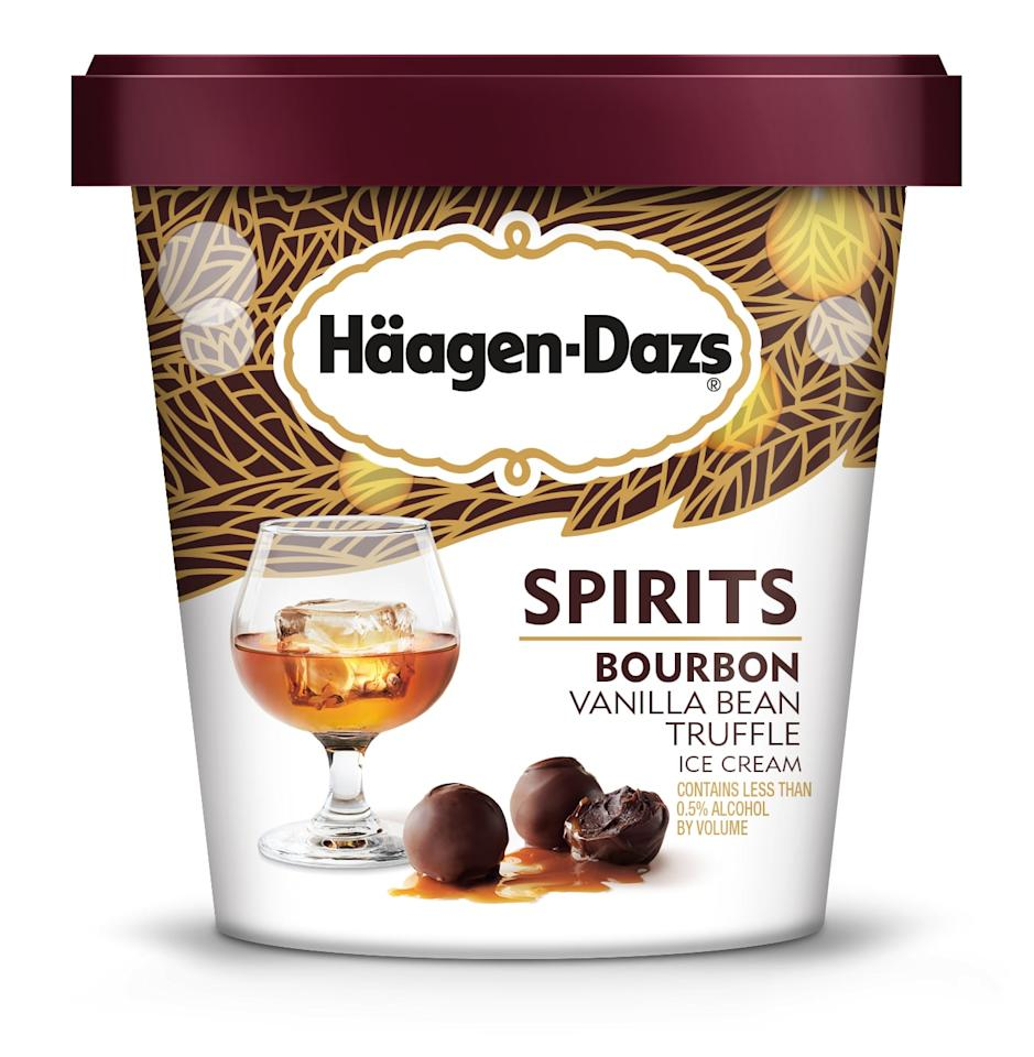 <p>Because just one bourbon flavor isn't enough. Bourbon Vanilla Bean Truffle stars classic, creamy vanilla bean ice cream, chocolate truffles, and a spicy bourbon swirl.</p>