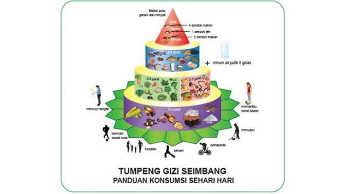Pedoman Gizi Seimbang (sumber : gizi.depkes.go.id)