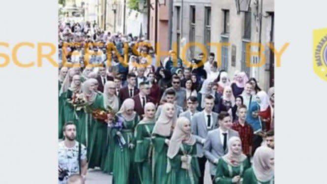 Cek Fakta: Gempar Kabar Wisuda 4.000 Penghafal Alquran di Bosnia