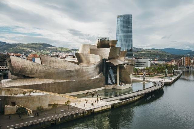 Bilbao's Guggenheim is Spain's first big museum to reopen