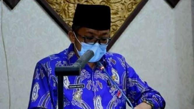Wakil Wali Kota Padang dan Sekda-nya Positif COVID-19