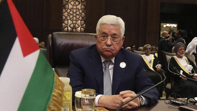 Mahmoud Abbas. (AP)