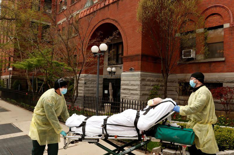 New York steps up coronavirus protections for nursing home residents