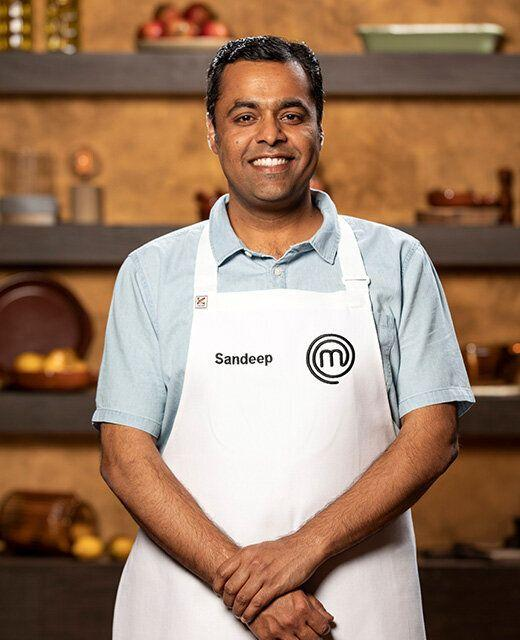 IT project manager Sandeep Pandit originally from Kashmir, India, has responded to MasterChef Australia viewers who've complained he's made 'too much curry' on TV.
