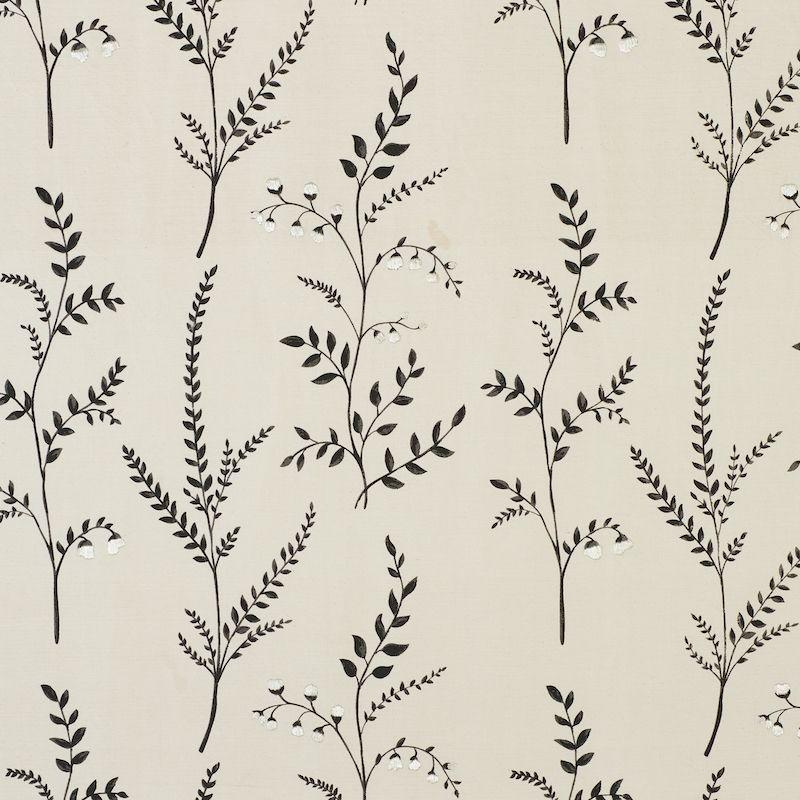 """<p><strong>Schumacher</strong></p><p>fschumacher.com</p><p><a href=""""https://fschumacher.com/78352"""" target=""""_blank"""">Discover</a></p><p>A moodier floral always feels just right for fall. This hand-printed botanical finished with embroidered (also by hand) detailing sets a perfect backdrop for the season.</p>"""