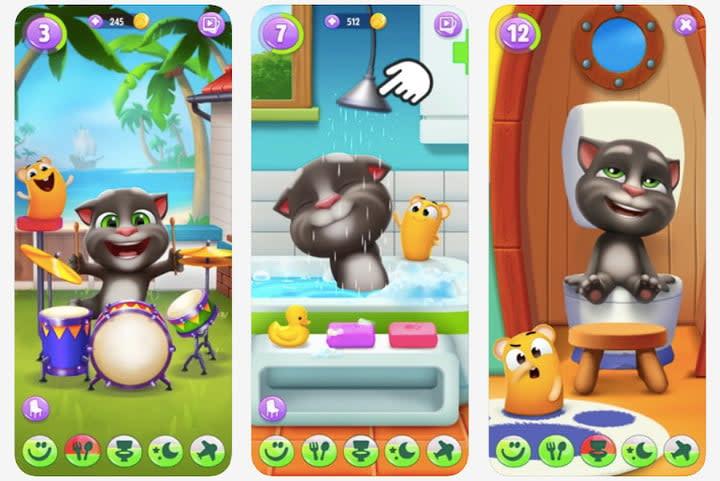 My Talking Tom 2 free kids game