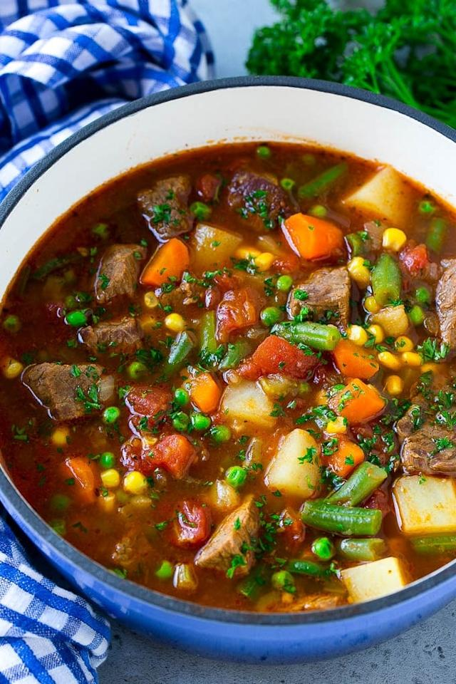 """<p>Getting your kids to chow down on this nutrient-packed <a href=""""http://www.dinneratthezoo.com/vegetable-beef-soup/"""" target=""""_blank"""" class=""""ga-track"""" data-ga-category=""""Related"""" data-ga-label=""""http://www.dinneratthezoo.com/vegetable-beef-soup/"""" data-ga-action=""""In-Line Links"""">Vegetable Beef Soup</a> will be a breeze! Isn't it colorful?!</p>"""