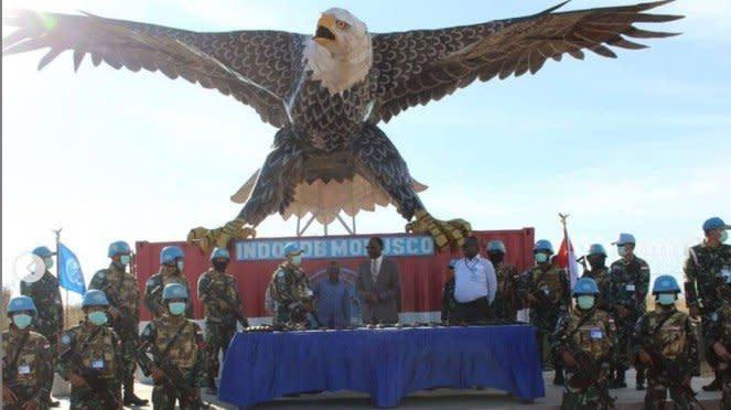 VIVA Militer: SatgasIndonesia RDB 39B di Kongo