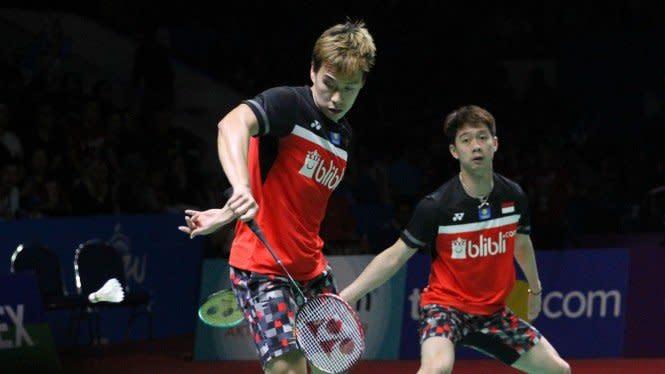 Denmark Open, Kevin/Marcus Catatkan Fakta dan Rekor Mengerikan
