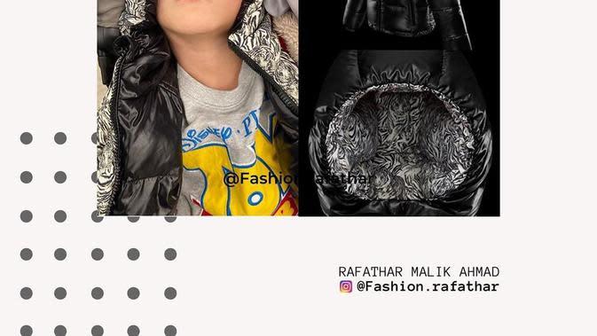 Anak seleb yang memiliki barang dengan harga fantastis. (sumber: Instagram @fashion.rafathar)