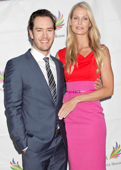Mark-Paul Gosselaar (wife is Catrionia McGinn)