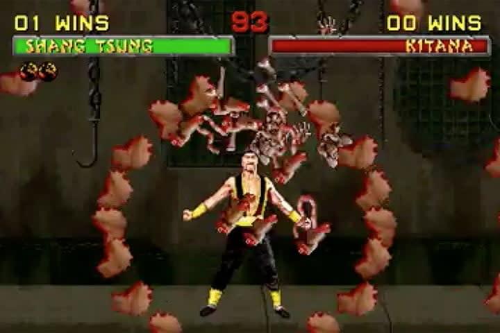 Shang Tsung – Inner Ear | Best Mortal Kombat Fatalities