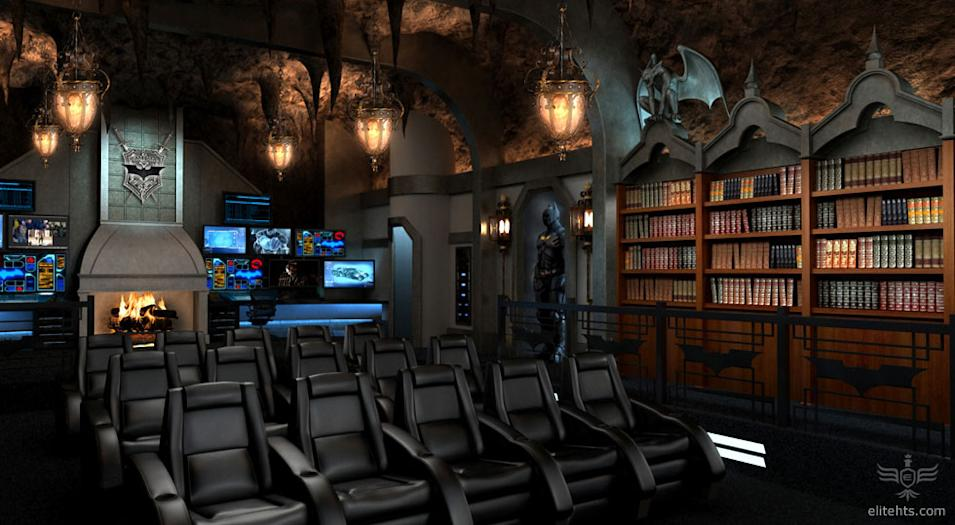 Batcave Home Theater