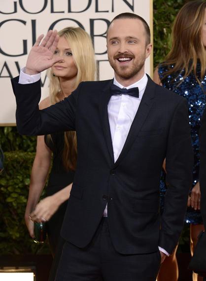 "NBC's ""70th Annual Golden Globe Awards"" - Arrivals: Aaron Paul"