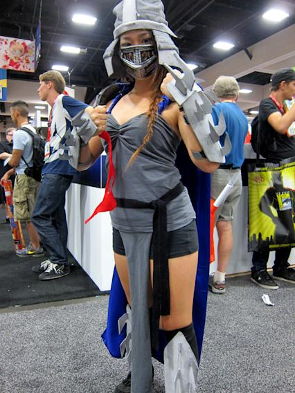 The Shredder is looking for trouble - San Diego Comic-Con 2012