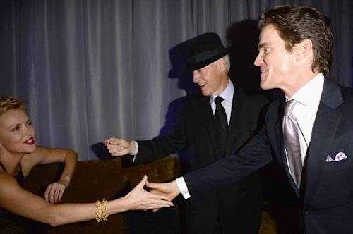Bill Clinton, Jennifer Lawrence, Leonardo DiCaprio's Saturday Night Out; Oprah, Quincy, and Usher 'Love L.A.' (Photos)