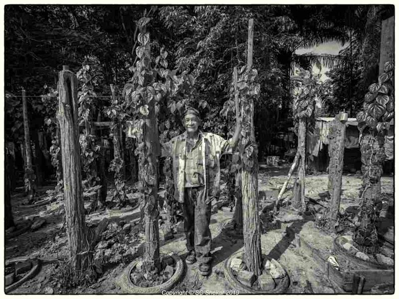 Pak Long lives about 10 minutes away in another Orang Asli village called Kampung Teraling which has minimal electricity provided by a solar panel donated by an NGO. ― Picture by SC Shekar