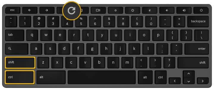 Chromebook Keyboard Refresh Key