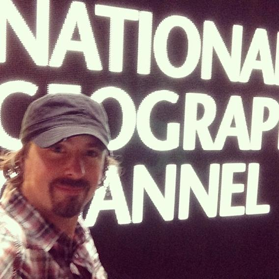 Hello - Casey Anderson here from @natgeochannels! Early morning on the west coast as we get ready for the first session of the TCAs!