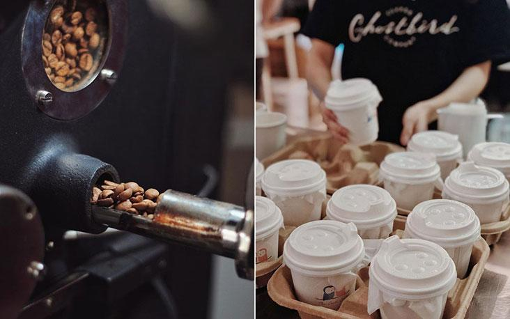 From roasting beans to preparing takeaway cups, making coffee requires more steps than we realise