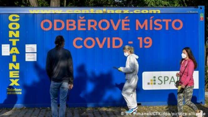 Ceko Darurat COVID-19, Kota Paris Status Siaga Tertinggi