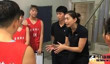 菁英盃/大學生對抗旅外就差經驗!陳昱潔菜鳥年開心減重