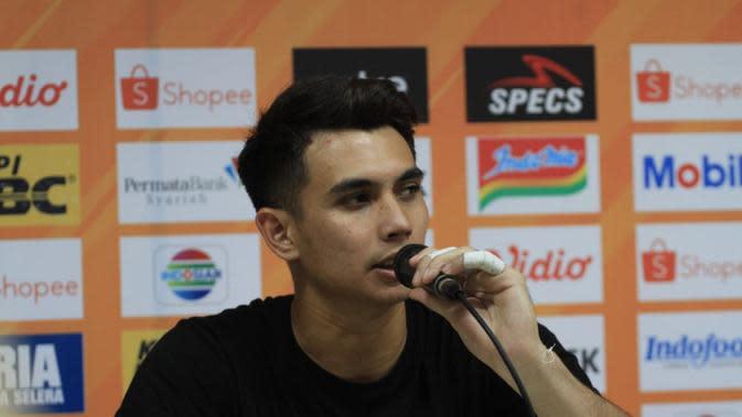 Nadeo Winata Bersyukur Borneo FC Bisa Mengimbangi Persib