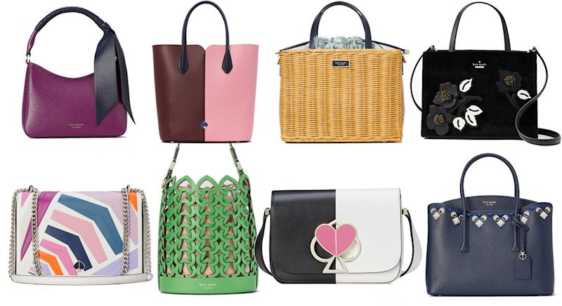 Kate Spade are offering up to 60% off stylish bags [Photo: Yahoo Style UK]