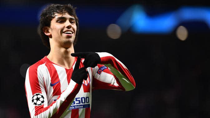 Joao Felix (81 juta euro) - Talenta muda asal Portugal ini digadang-gadang merupakan penerus Cristiano Ronaldo berkat penampilan apiknya di setiap laga. (AFP/Gabriel Bouys)