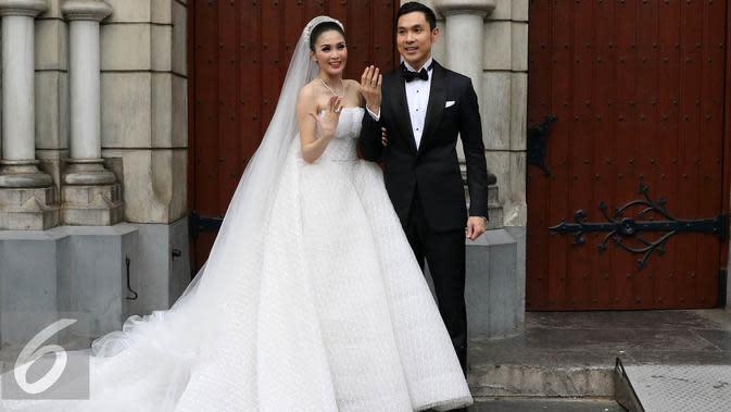 Sandra Dewi dan Harvey Moeis (Herman Zakharia/Liputan6.com)