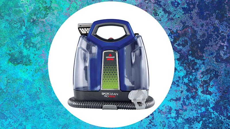 Bissell's SpotClean ProHeat is the ultimate tool for getting rid of stains, dirt and odour.