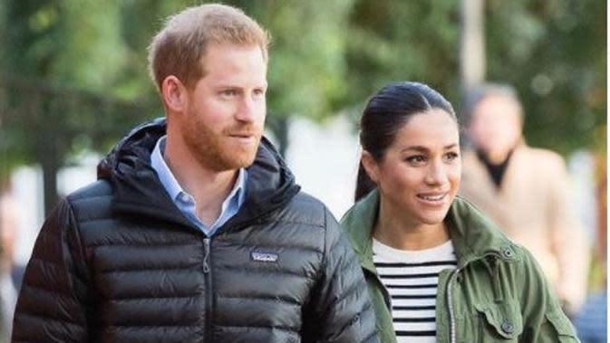 Pangeran Harry dan Meghan Markle. (dok.Instagram @oprahmagazine/https://www.instagram.com/p/CE4ehjCgx24/Henry)